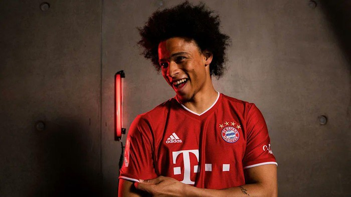 Leroy Sane berseragam Bayern Munich