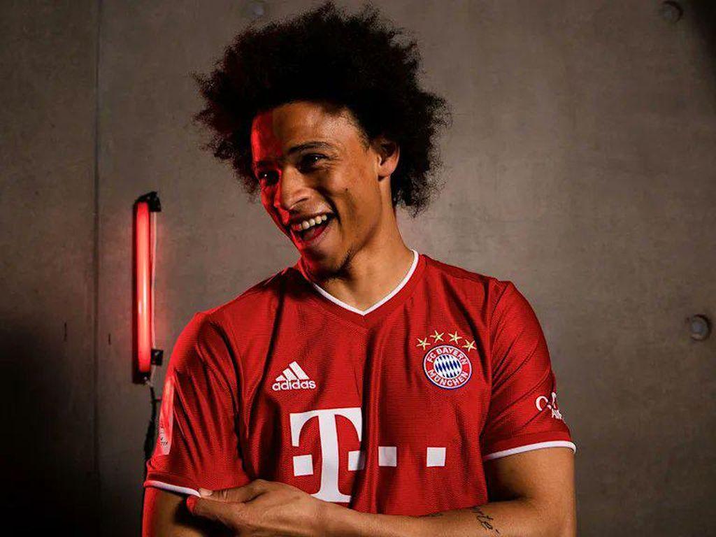 Foto Sane Berseragam Bayern Bocor, Die Roten Minta Maaf ke City