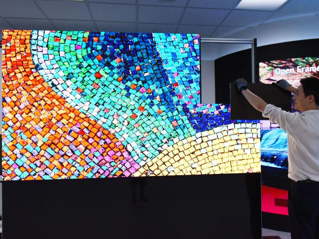 LG Bikin LED Penampil Digital Tanpa Kabel