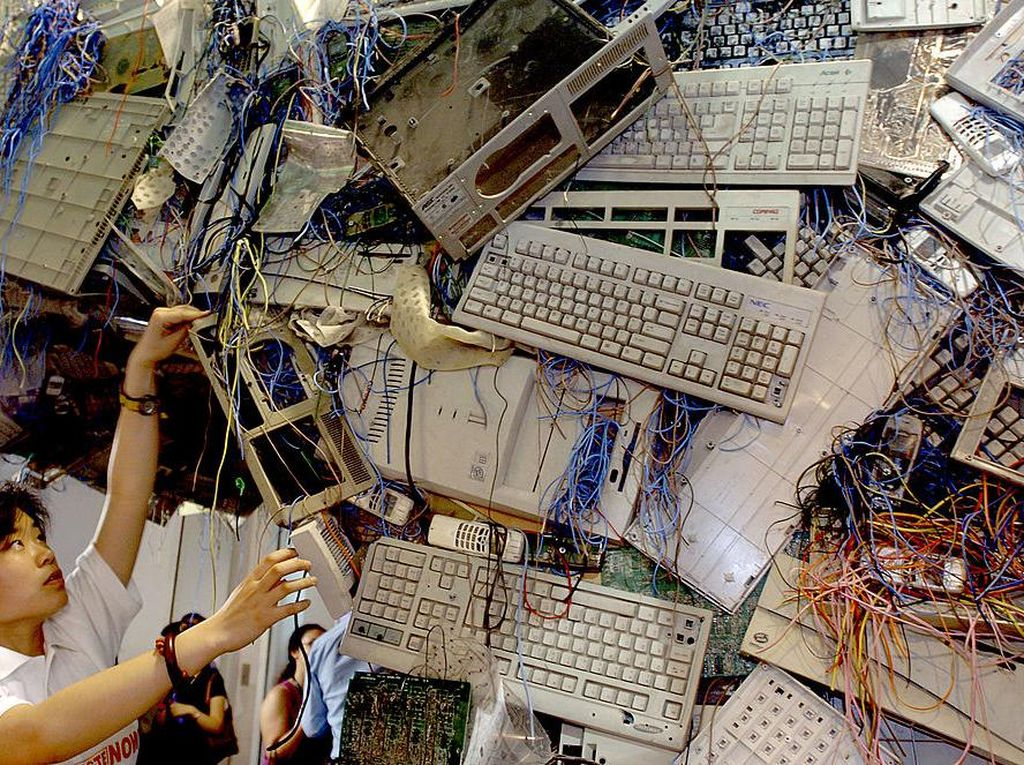 Wow! Limbah Elektronik Tembus 53,6 Juta Ton