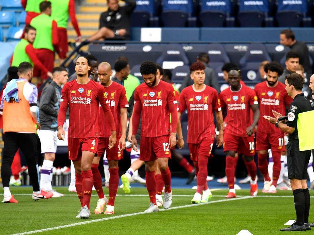 Yuk Intip Persiapan Pesta Juara Liverpool di Anfield