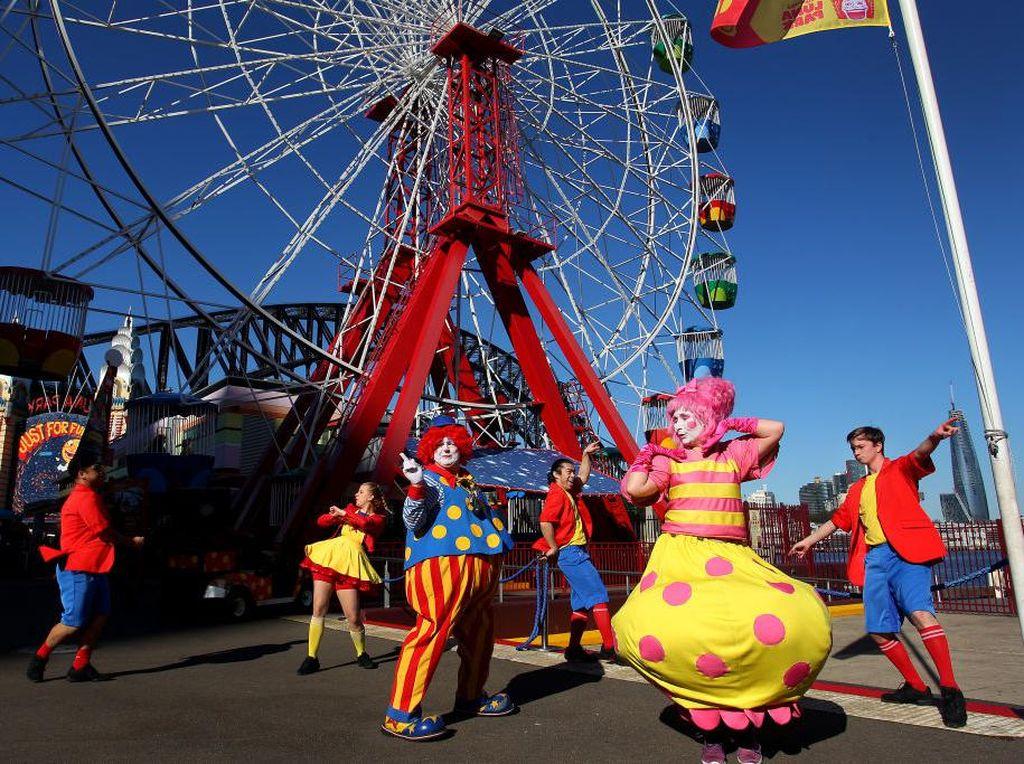 Yeay! Luna Park Sydney Buka Lagi Untuk Umum