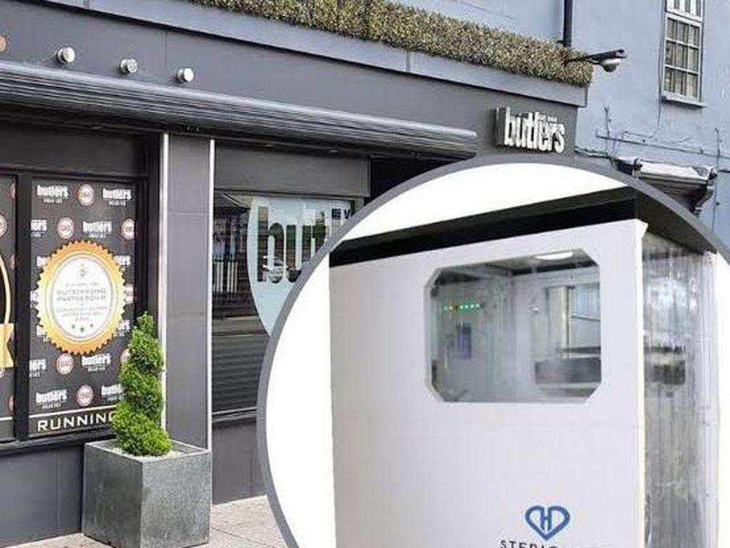 Mesin Pembunuh Virus Akan Dipasang di Pintu Masuk Restoran