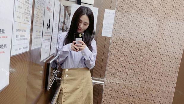 foto instagram Mina eks-AOA
