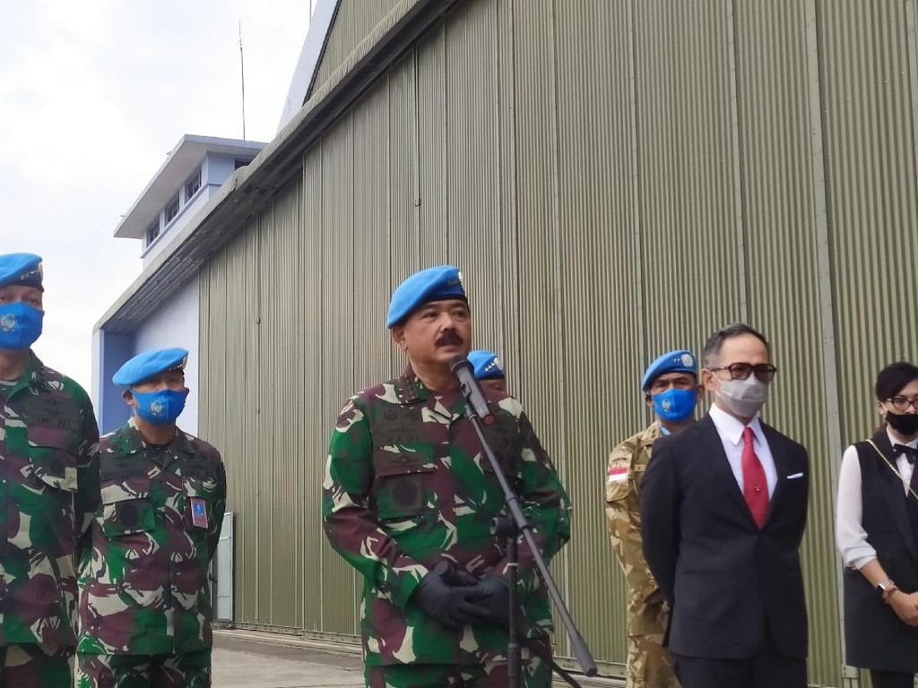 Pelda Anumerta Rama Gugur di Kongo, Panglima TNI Evaluasi Taktis di Lapangan