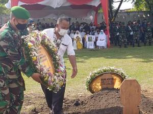 Pangdam Bukit Barisan Pimpin Pemakaman Pelda Anumerta Rama di Pekanbaru