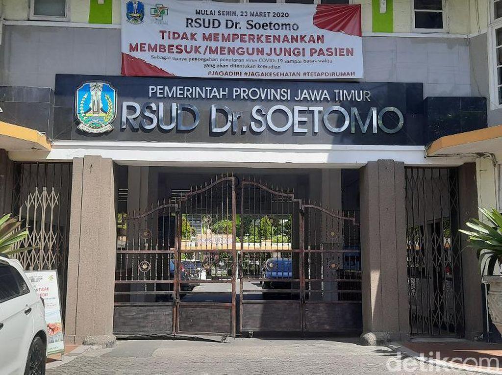 Petugas Radiologi RSU Soetomo Meninggal Terpapar COVID-19