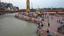 Foto: Sungai Gangga yang Sepi