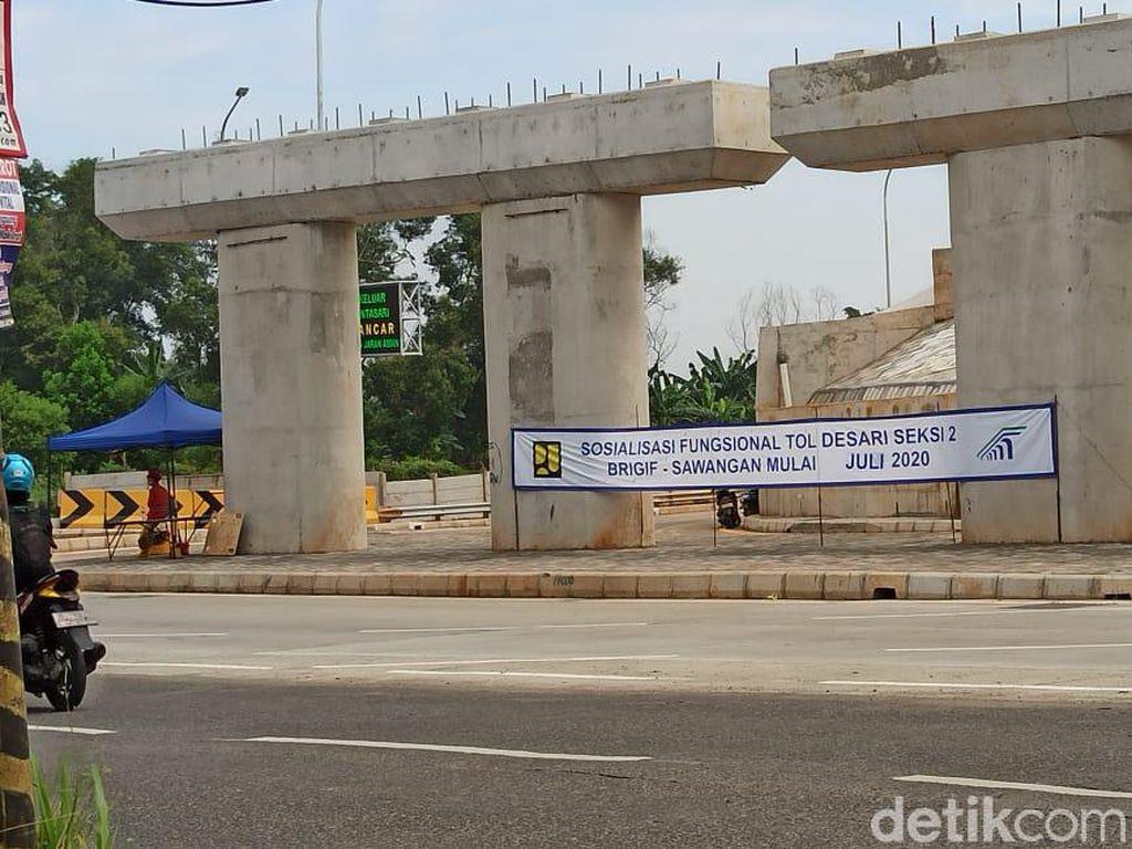 Tol Desari Sudah Nyambung Sampai Depok, Kapan Lanjut ke Bogor?