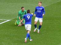 Leicester Vs Palace: Vardy Dua Gol, Si Rubah Terkam Si Elang