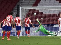 Atletico Madrid Bungkam Real Mallorca 3-0