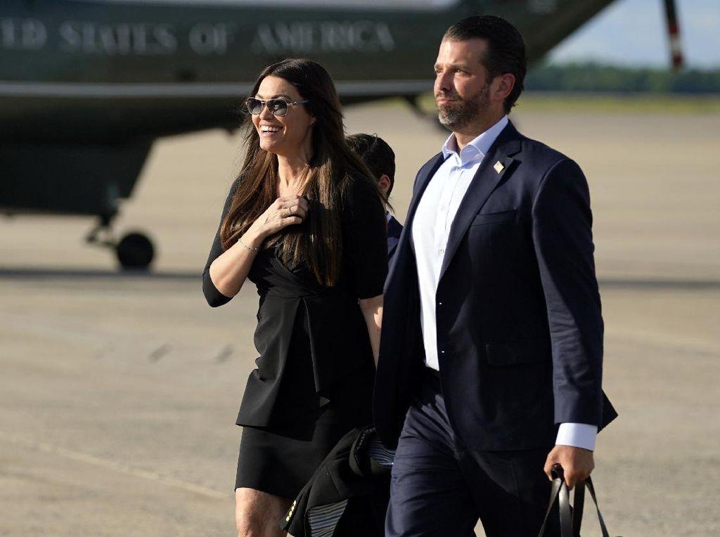 Kekasih Putra Sulung Trump Dinyatakan Positif Corona