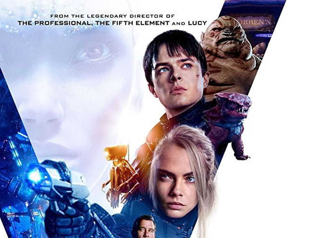 Sinopsis Valerian and the City of a Thousand Planets, Film Cara Delevingne