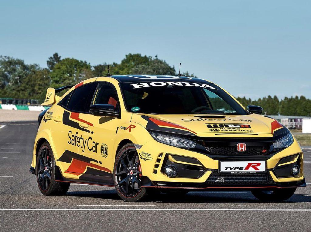 Disuntik Mati di Jepang, Honda Civic Type R Jadi Safety Car WTCR