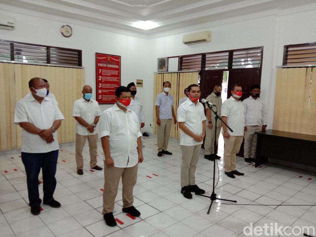 Sah! Ihwan Ritonga Dilantik Jadi Ketua Gerindra Medan