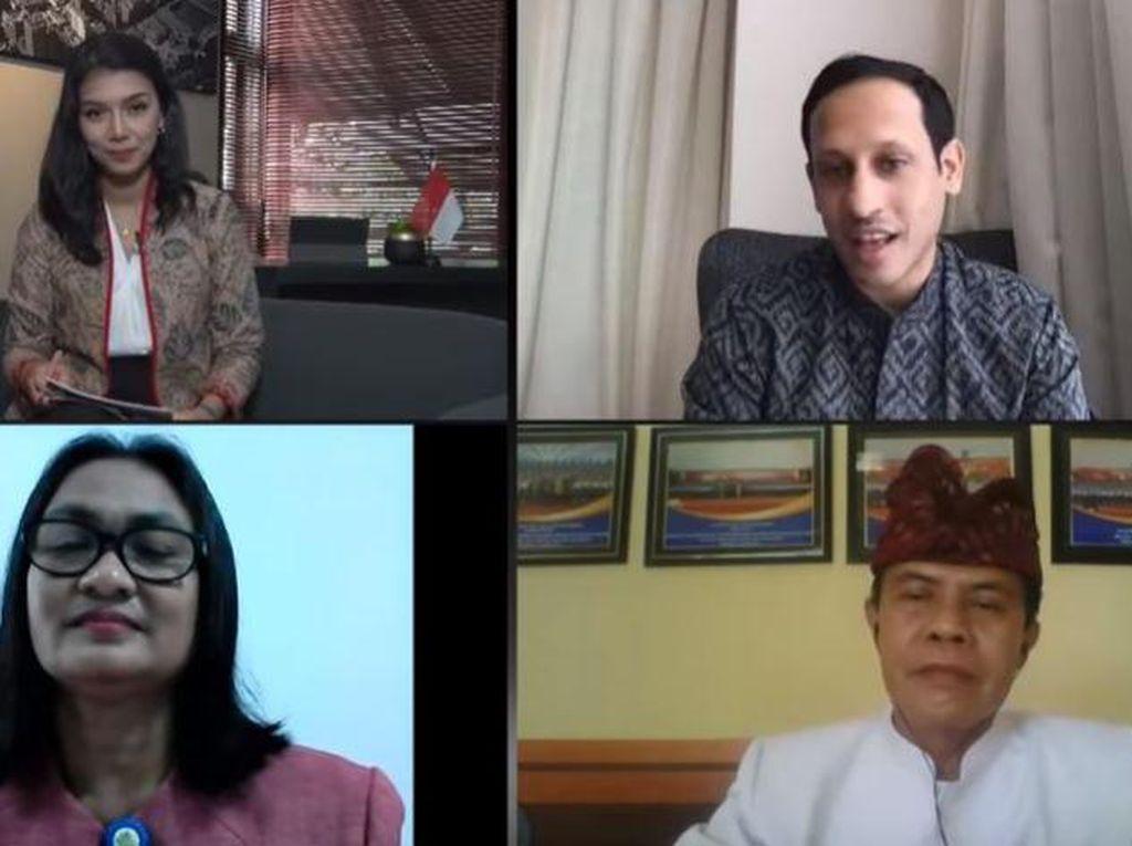 Nadiem Sebut Kepsek di Maluku & Bali Ini Jadi Inspirasi Guru Penggerak