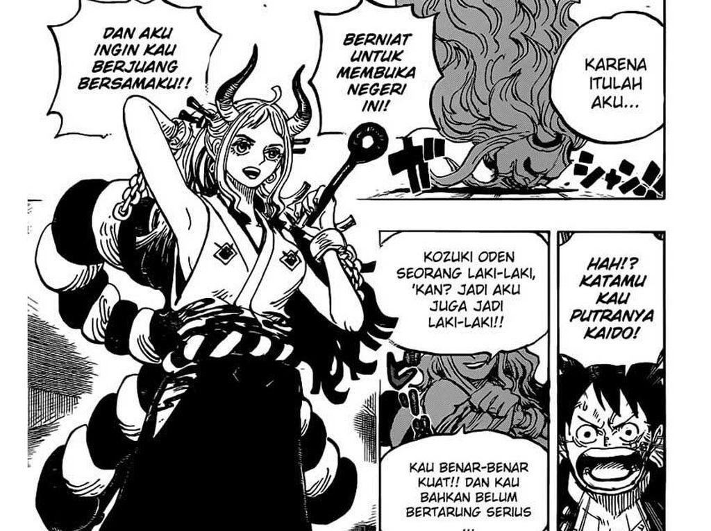 One Piece 984 Masih Trending, Fans Senang Anak Kaido Putri Cantik