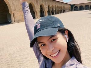 Maudy Ayunda Akui Ada yang Coba Curi Perhatiannya di Stanford