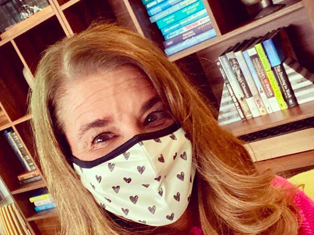 Melinda Gates Serukan Pentingnya Pakai Masker