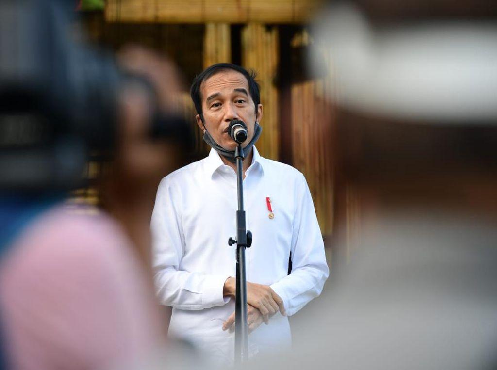 Cerita Timbangan Jokowi Turun 3 Kg