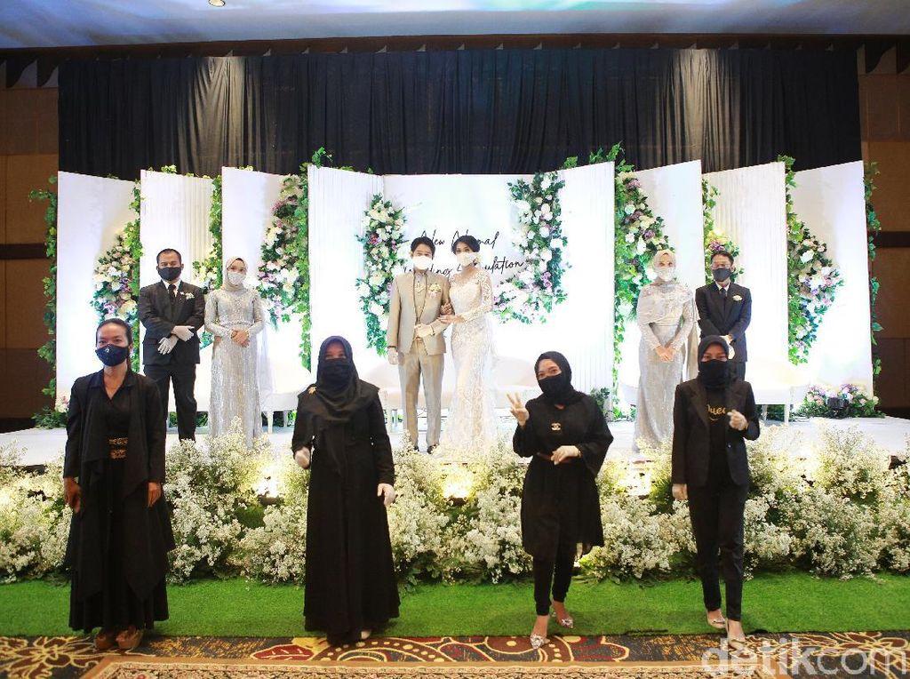 Simulasi Resepsi Pernikahan di Banyuwangi Digelar Selama Transisi New Normal