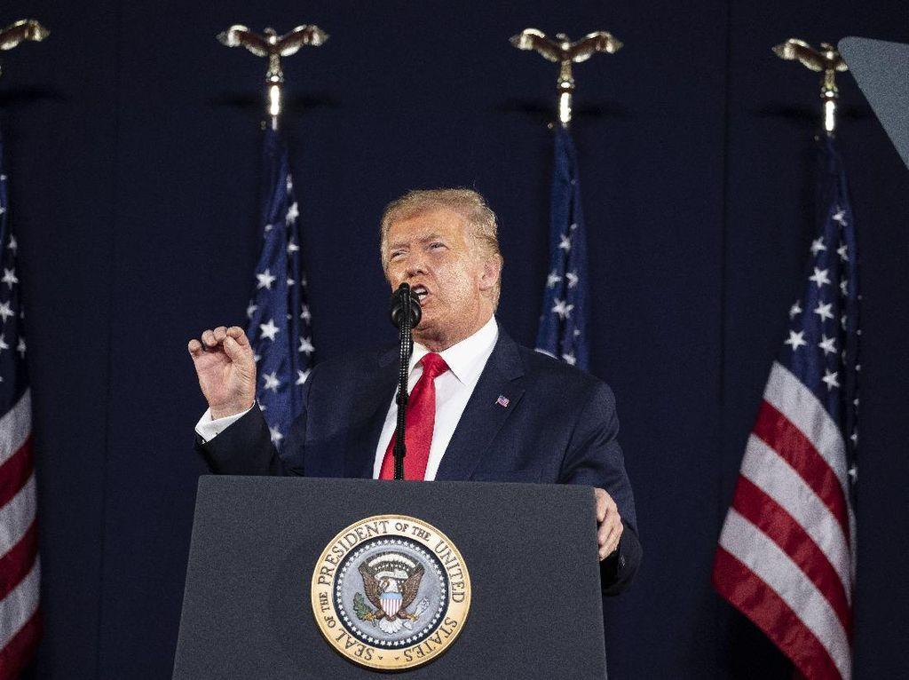 Gedung Putih Bela Klaim Trump Soal 99 Persen Kasus Corona Tak Berbahaya