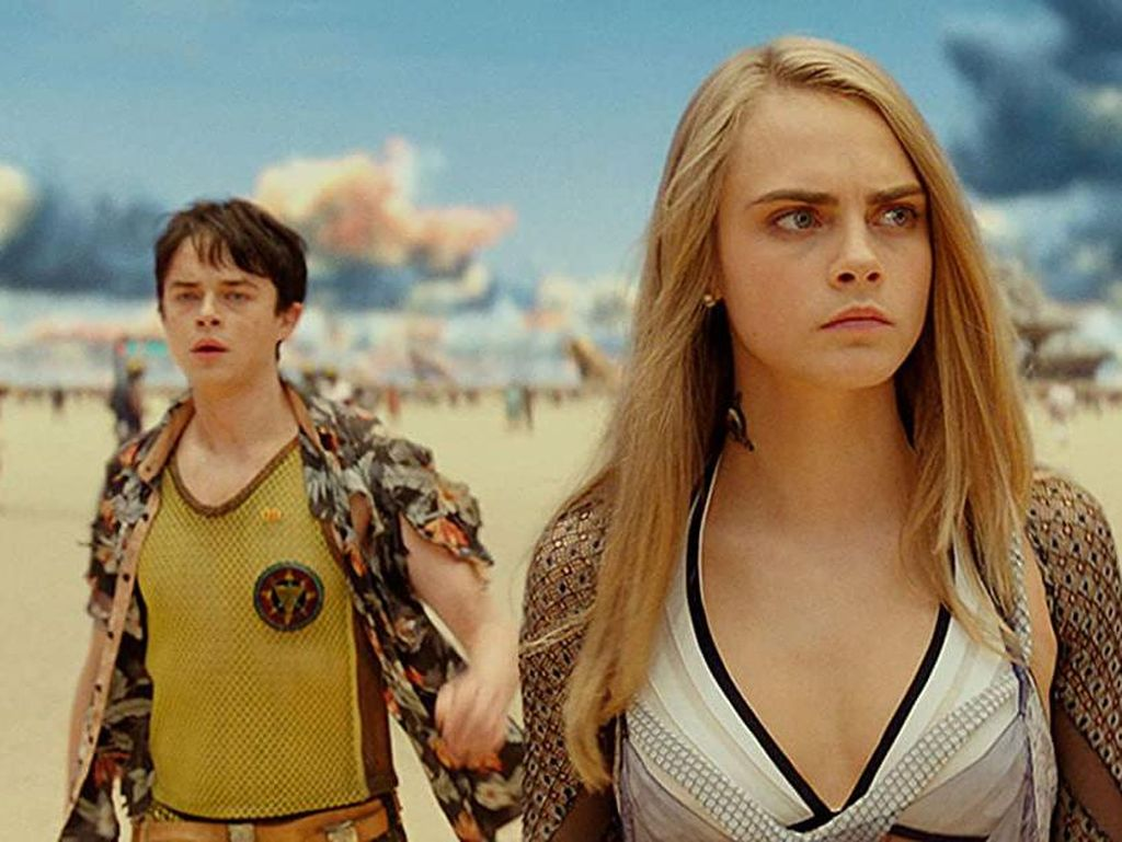 Bioskop Trans TV Tayangkan Valerian and the City of a Thousand Planets