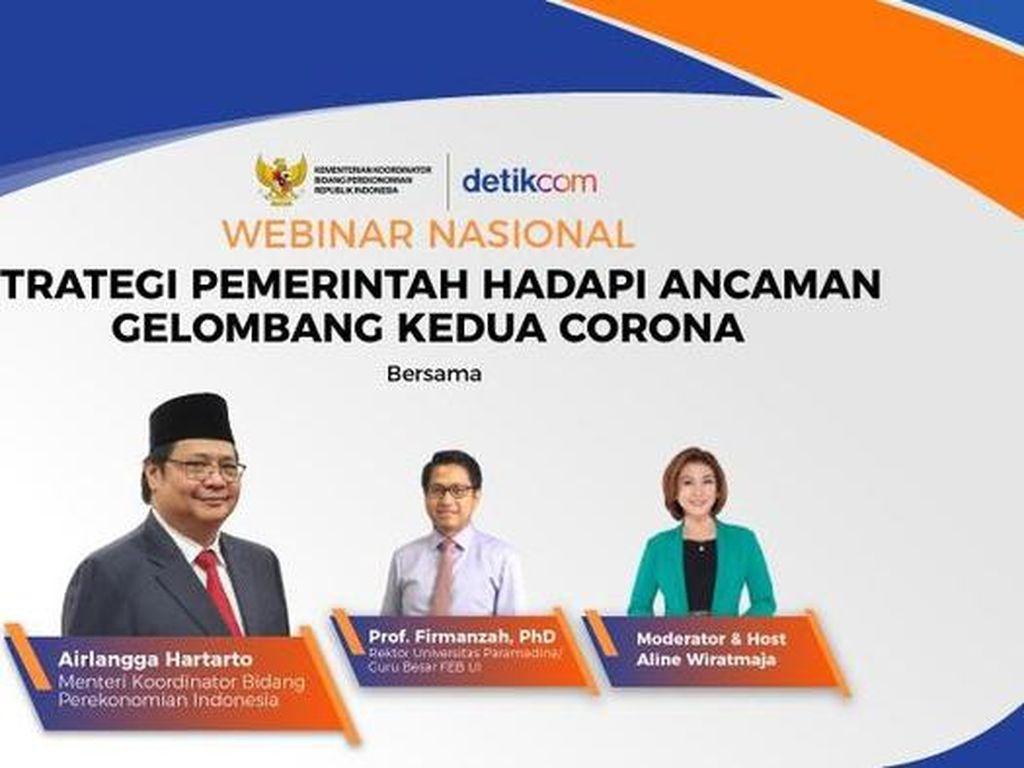 Ancaman Gelombang 2 Corona, Pemerintah Ungkap Strategi Jaga Ekonomi