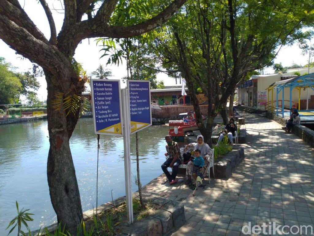 Hari Pertama Wisata di Mojokerto Dibuka, Banyak Pengunjung Tak Pakai Masker