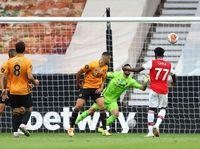 Wolves Vs Arsenal: Gol Saka Buat The Gunners Unggul di Babak Pertama