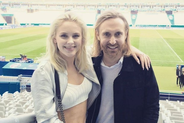 Zara Larsson dan David Guetta berlatih bersama untuk tampil di pembukaan dan penutupan UEFA UERO 2016