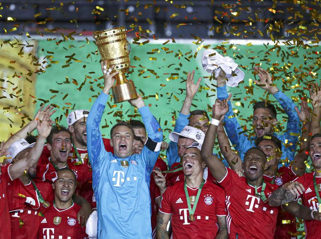 Bayern Munich Menuju Treble: Two Down, One to Go