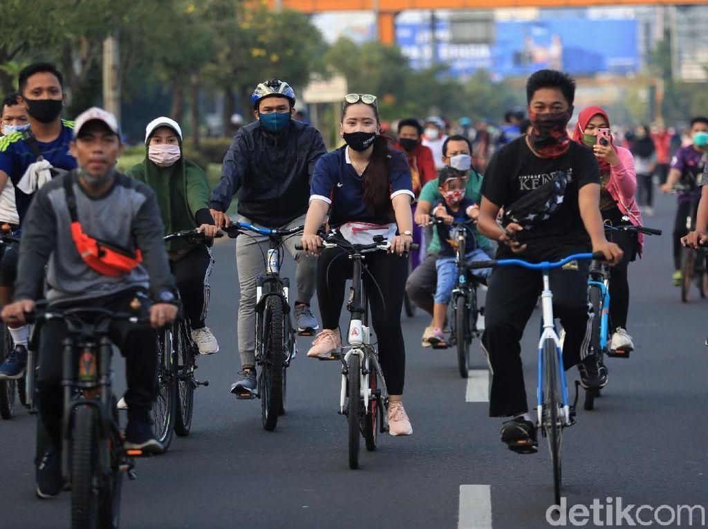 Tren Gowes Hits di Tengah Pandemi, Rental Sepeda Jadi Rebutan di Akhir Pekan
