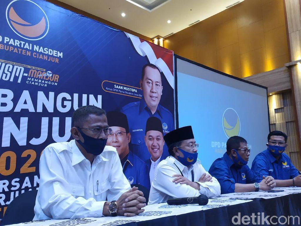 Dukung Herman-Tb di Pilbup, NasDem Cianjur Ancam Pecat Kader Pengkhianat