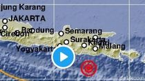 Gempa 5.3 M di Blitar Bikin Warga yang Tidur Pulas Bangun dan Keluar Rumah