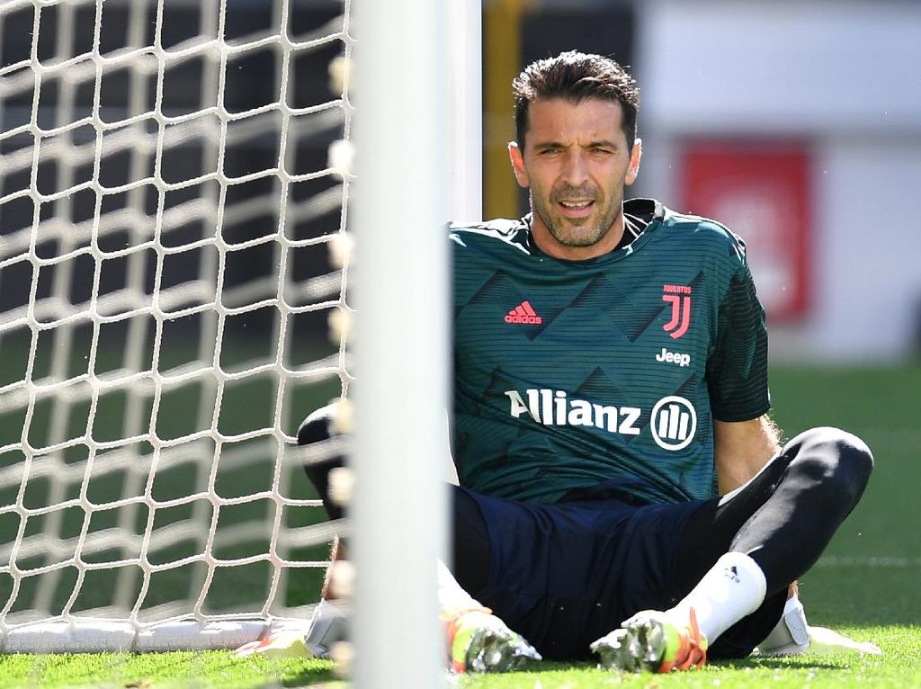 Gianluigi Buffon Raja Liga Italia