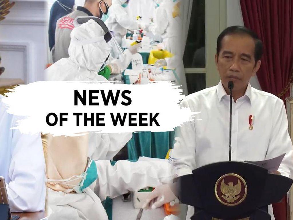 News of The Week: Jokowi Ancam Reshuffle, 3 Rekor Baru Corona di RI
