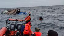 Kapal Guide di Buton Nyaris Tenggelam Dihantam Ombak, 5 Orang Dievakuasi