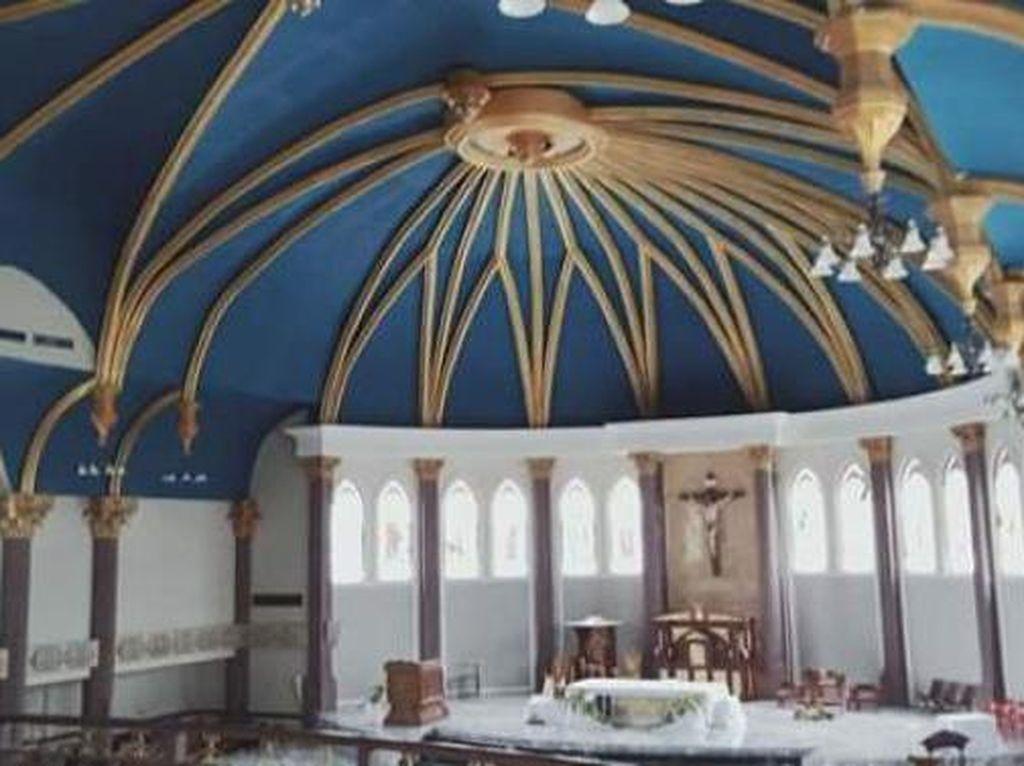 Foto: Katedral Baru Samarinda yang Indah