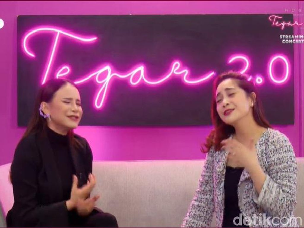 Rossa dan Nagita Slavina Berbagi Momen Ngefans Artis Korea