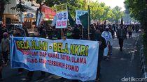 Massa Tolak RUU HIP dan PIP Long March ke DPRD Klaten
