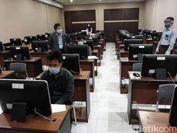 UTBK Hari Pertama di UNY, Ada 27 Peserta Tak Hadiri Tes Sesi I