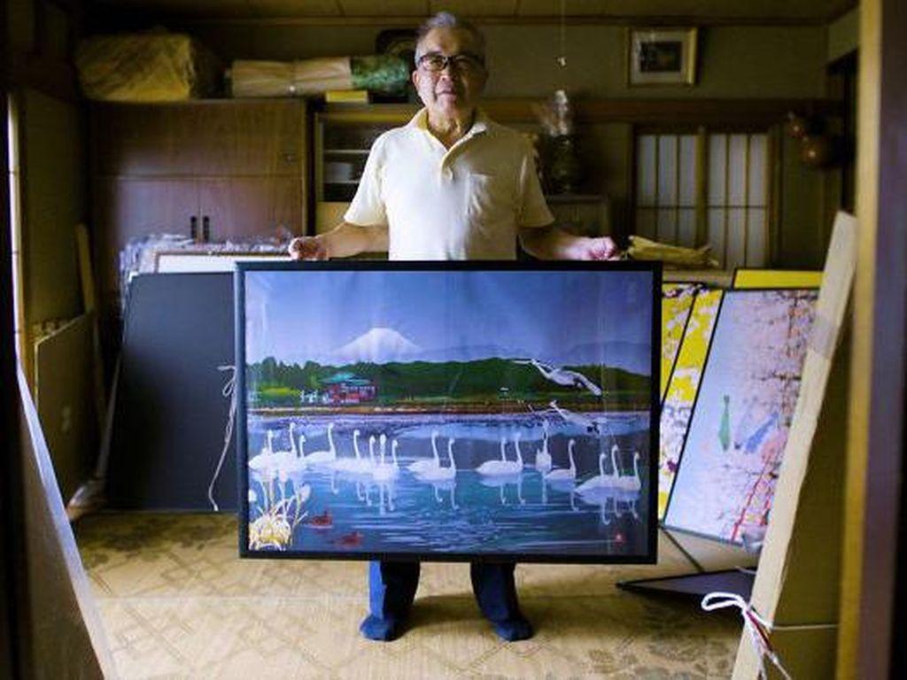 Keren! Kakek 80 Tahun Ini Buat Lukisan Indah Pakai Microsoft Excel