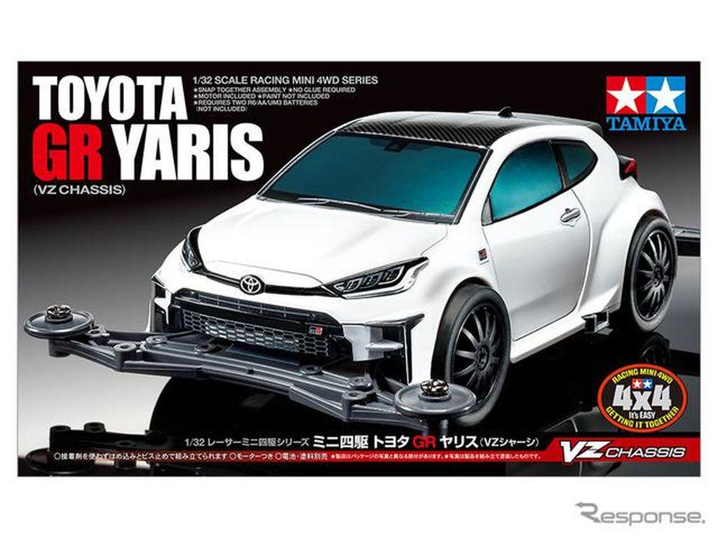 Toyota Yaris GR Versi Mini ala Tamiya