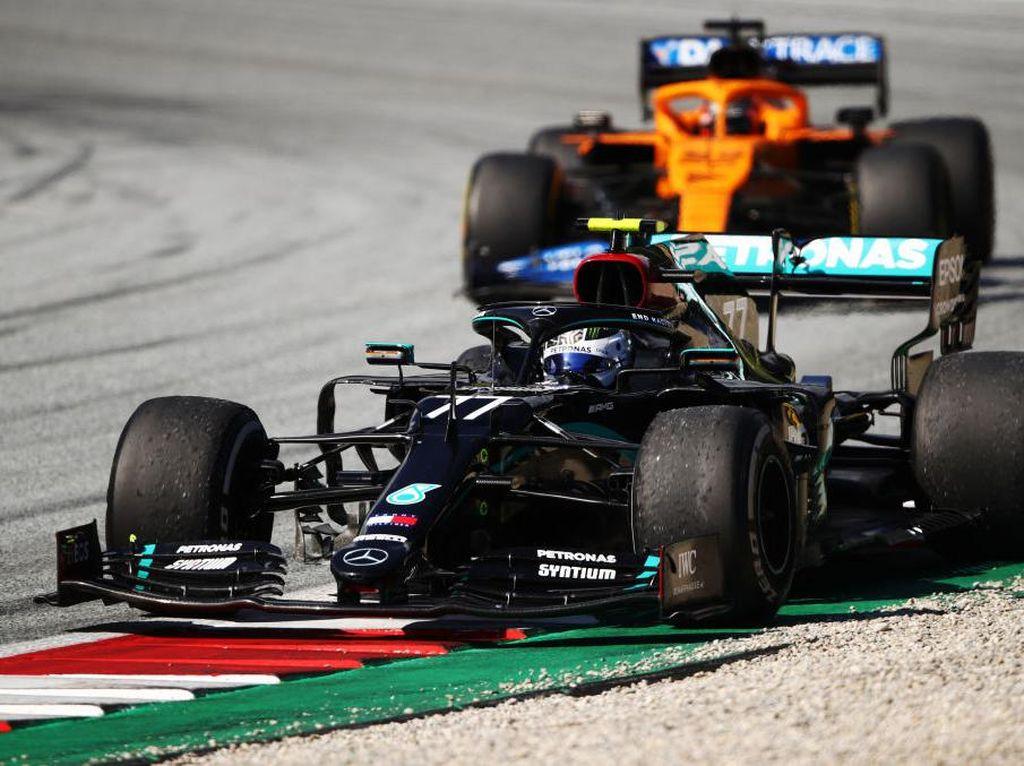 Hasil GP Austria: Valtteri Bottas Menangkan Mercedes di Balapan Perdana