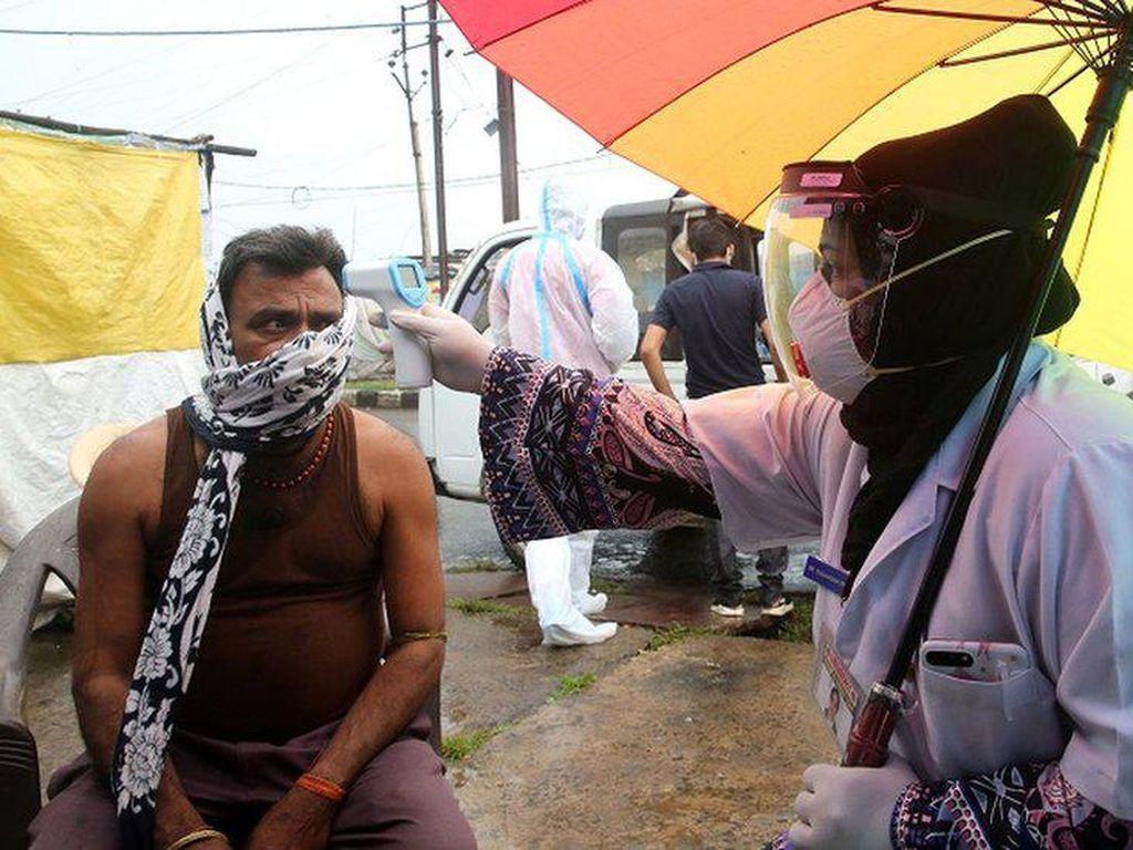 Longgarkan Lockdown, India Kini Catat Kasus Corona Terbanyak Ketiga di Dunia