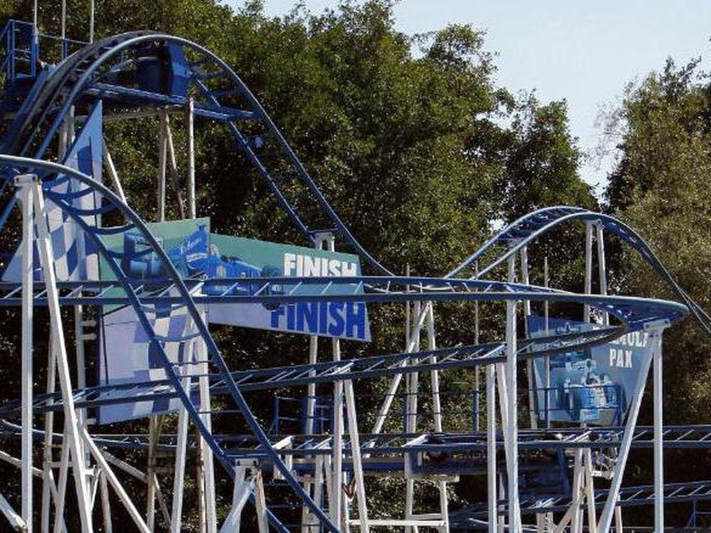 Tragis! Seorang Wanita Tewas Usai Terjatuh dari Roller Coaster