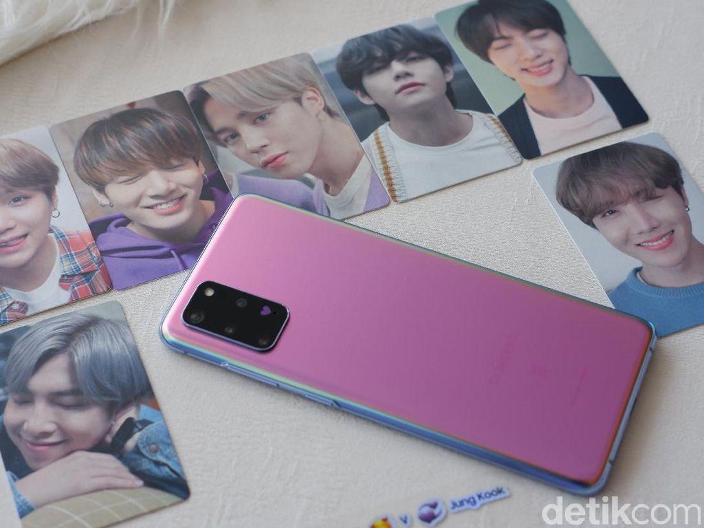 Unboxing Galaxy S20+ BTS Edition yang Siap Bikin Gemas Para ARMY