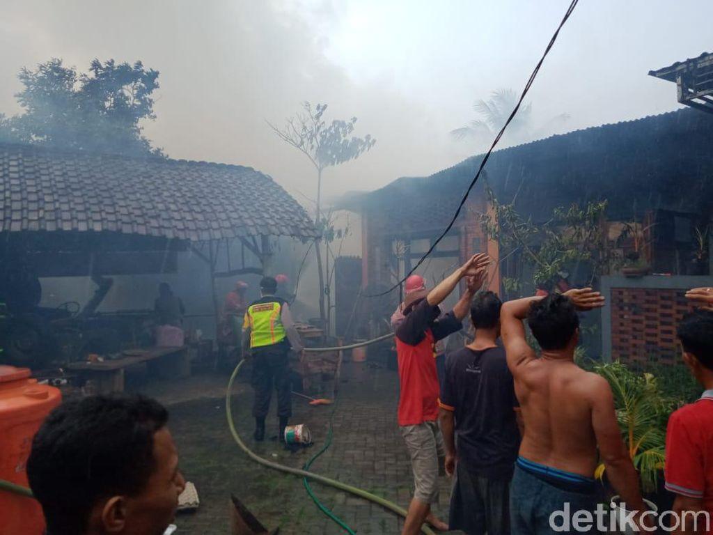 Gudang di Wisata Kampung Batok Kebakaran, Kerugian Ditaksir Rp 200 Juta