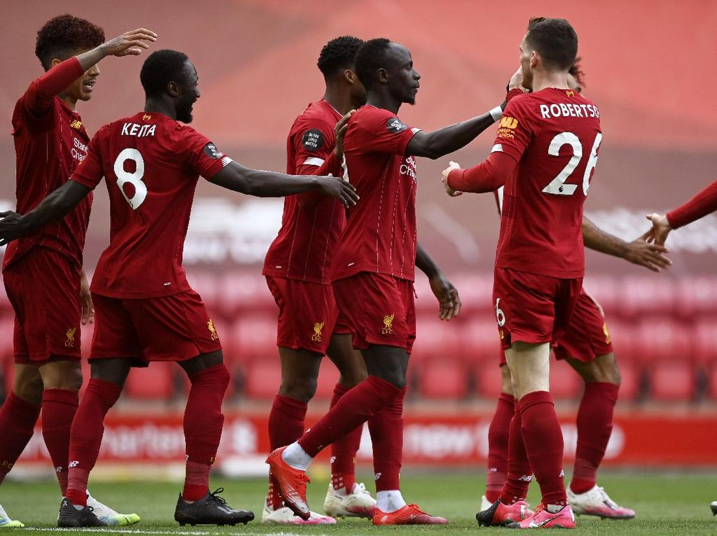 Rekor Kandang Liverpool Ngeri-ngeri Sedap!